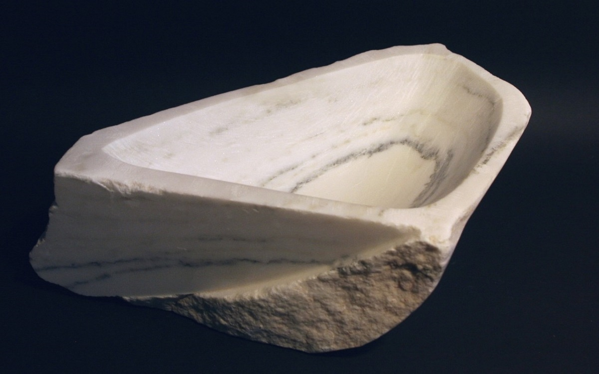 "Alabama White Marble - 9"" x 5"" x 4"""
